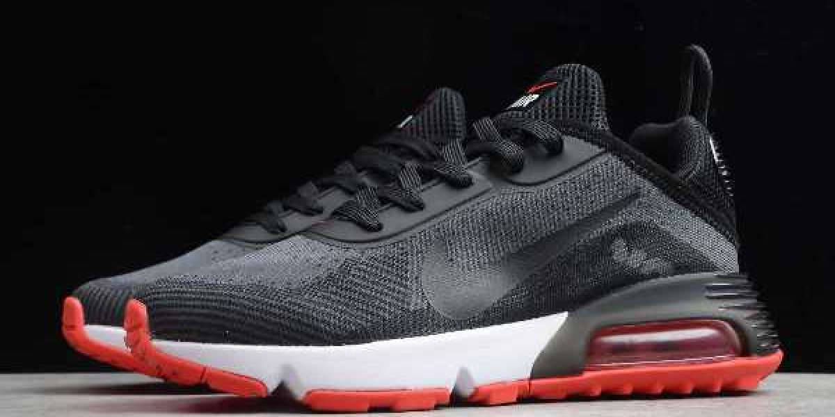 New Nike Air Max 2090 Black Red White Casual Shoes For Sale